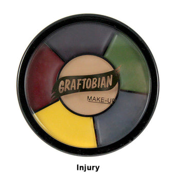 Graftobian Appliance RMG Wheel - Injury Colors (87052) | Camera Ready Cosmetics - 6