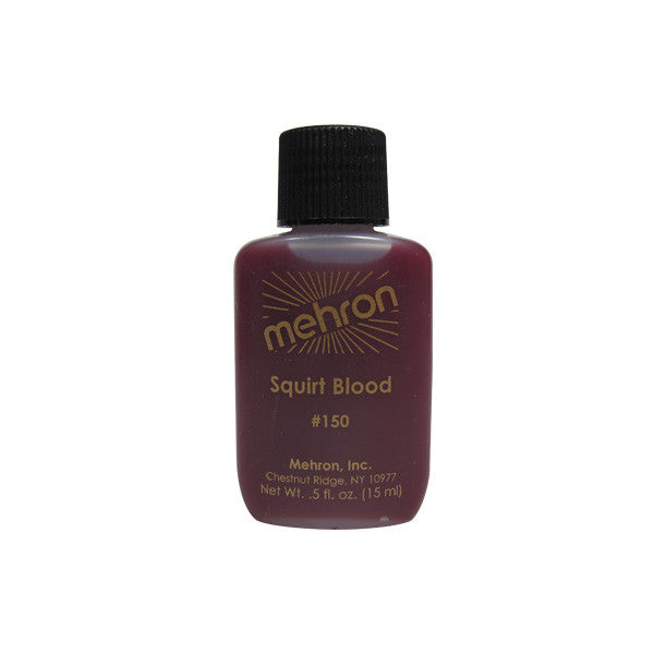 Mehron Performance Squirt Blood (USA only) - 0.5 oz Bright Arterial (150) | Camera Ready Cosmetics - 2