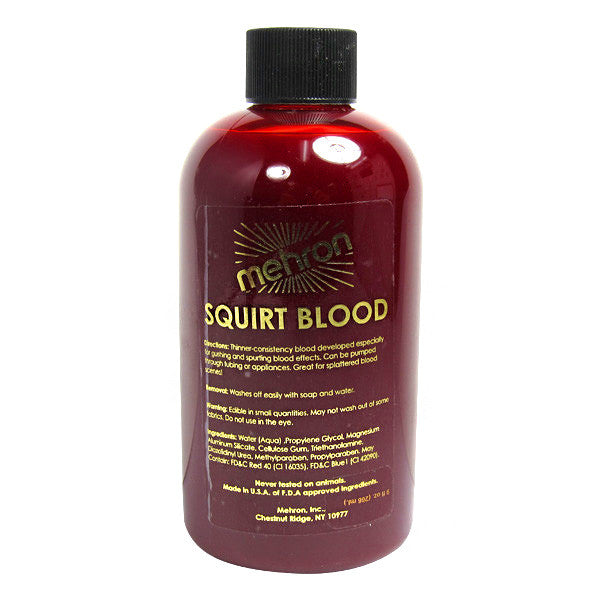 alt Mehron Performance Squirt Blood 9 oz Bright Arterial (150-9)