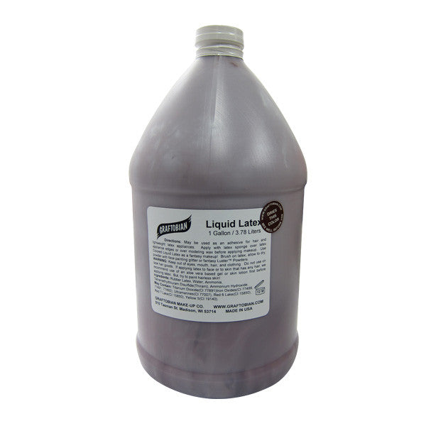 Graftobian Liquid Latex - Dark Brown / 1 Gallon | Camera Ready Cosmetics - 10