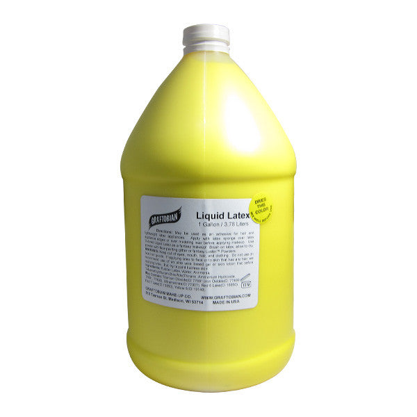 Graftobian Liquid Latex - Yellow / 1 Gallon | Camera Ready Cosmetics - 20