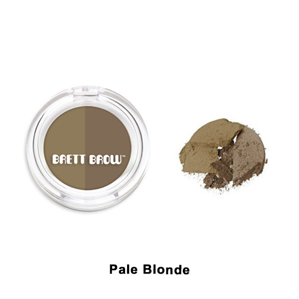 Brett Brow - Duo Shade Brow Powders - Pale Blonde | Camera Ready Cosmetics - 7