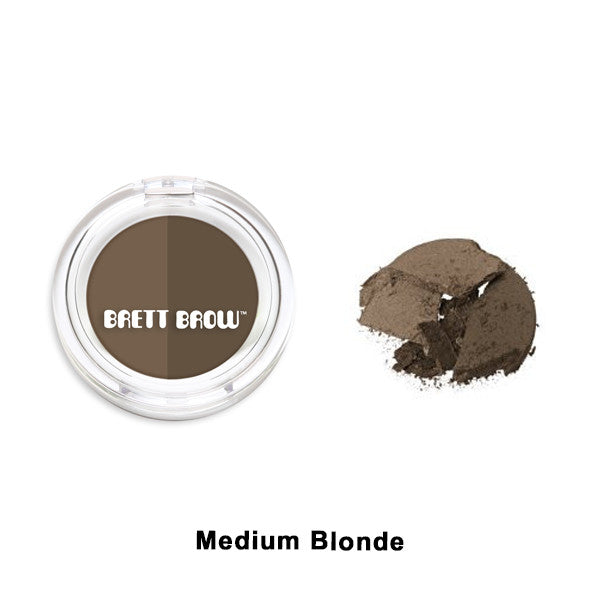 Brett Brow - Duo Shade Brow Powders - Medium Blonde | Camera Ready Cosmetics - 4