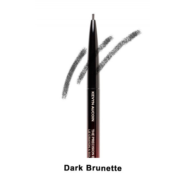 Kevyn Aucoin The Precision Brow Pencil - Dark Brunette | Camera Ready Cosmetics - 4