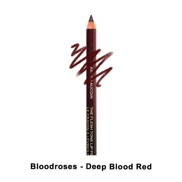 Kevyn Aucoin The Flesh Tone Lip Pencil - Bloodroses - Deep Blood Red | Camera Ready Cosmetics - 2