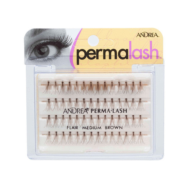 Andrea Individual Lash Flair (LIMITED AVAILABILITY) - Medium Brown (25120) | Camera Ready Cosmetics - 3