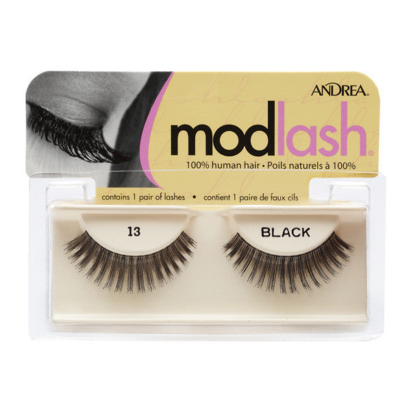 Andrea Strip Style Lash (LIMITED AVAILABILITY) - #13 Black (31310) | Camera Ready Cosmetics - 2