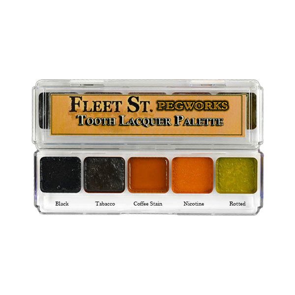 PPI Fleet Street Pegworks Tooth Lacquer Palette - Palette #1 | Camera Ready Cosmetics - 2