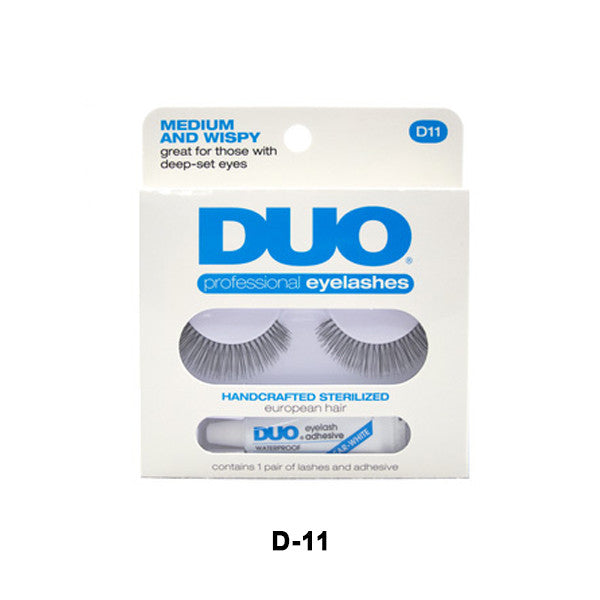 Duo Lash Kit - D11 - Medium & Wispy (56805) | Camera Ready Cosmetics - 2
