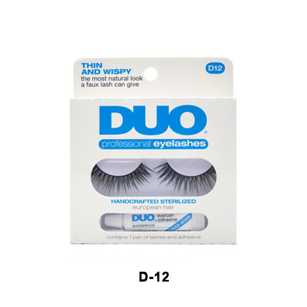 Duo Lash Kit - D12 - Thin & Wispy (56806) | Camera Ready Cosmetics - 4
