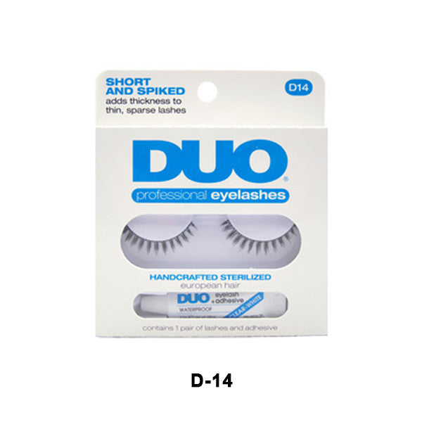 Duo Lash Kit - D14 - Short & Spiked (56808) | Camera Ready Cosmetics - 6