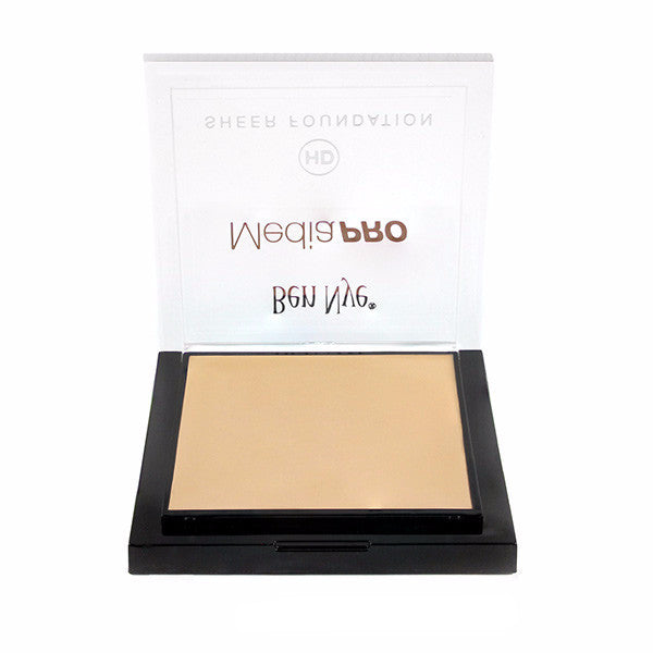 Ben Nye MediaPRO HD Sheer Foundation - Bella 020 (HD-020) | Camera Ready Cosmetics - 20