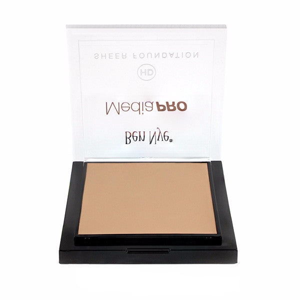 Ben Nye MediaPRO HD Sheer Foundation - Broadcast 1 (HDTV-01) | Camera Ready Cosmetics - 22