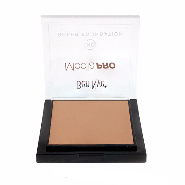 Ben Nye MediaPRO HD Sheer Foundation - Broadcast 2 (HDTV-02) | Camera Ready Cosmetics - 23