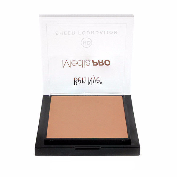 Ben Nye MediaPRO HD Sheer Foundation - Broadcast 3 (HDTV-03) | Camera Ready Cosmetics - 24