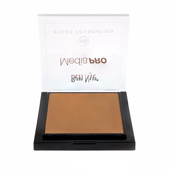 Ben Nye MediaPRO HD Sheer Foundation - Bella 005 (HD-005) | Camera Ready Cosmetics - 17