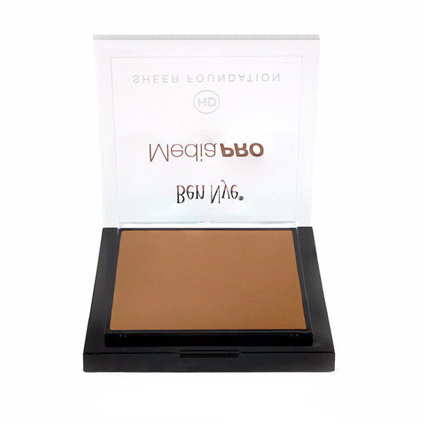 Ben Nye MediaPRO HD Sheer Foundation - Bella 006 (HD-006) | Camera Ready Cosmetics - 18