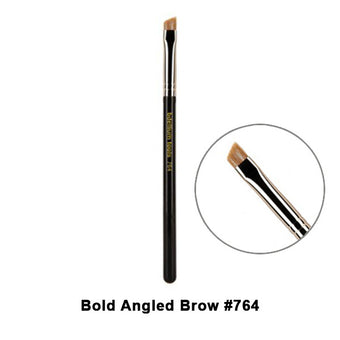 Bdellium Tools Maestro Series Brushes for Eyes - 764 Bold Angled Brow | Camera Ready Cosmetics - 9