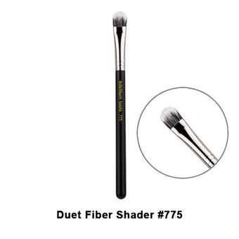 alt Bdellium Tools Maestro Series Brushes for Eyes 775 Duet Fiber Shader (Maestro Eyes)