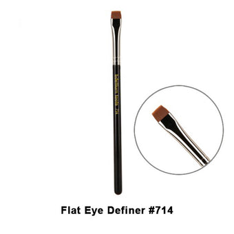 alt Bdellium Tools Maestro Series Brushes for Eyes 714 Flat Eye Definer (Maestro Eyes)