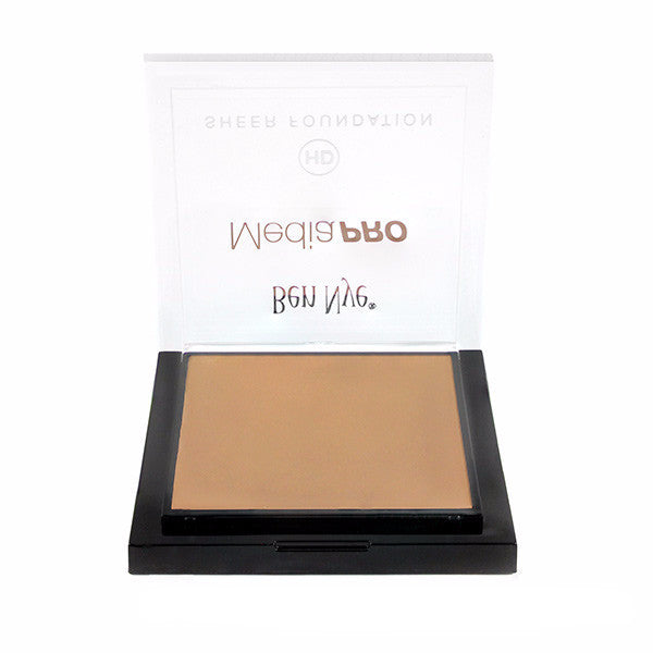 Ben Nye MediaPRO HD Sheer Foundation - Bella 002 (HD-002) | Camera Ready Cosmetics - 14