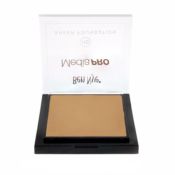 Ben Nye MediaPRO HD Sheer Foundation - Cine Tan (HD-313) | Camera Ready Cosmetics - 34