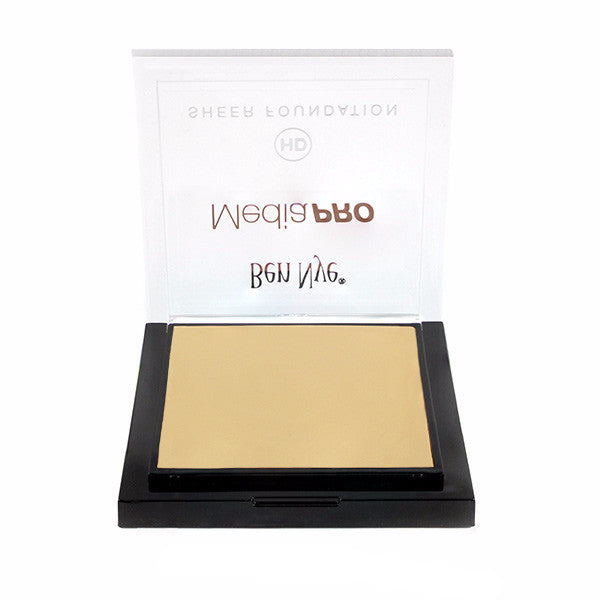 Ben Nye MediaPRO HD Sheer Foundation - Shinsei Ivory (HD-501) | Camera Ready Cosmetics - 63