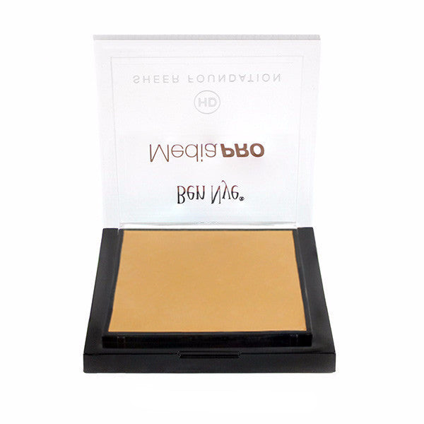 Ben Nye MediaPRO HD Sheer Foundation - Almond (HD-513) | Camera Ready Cosmetics - 2