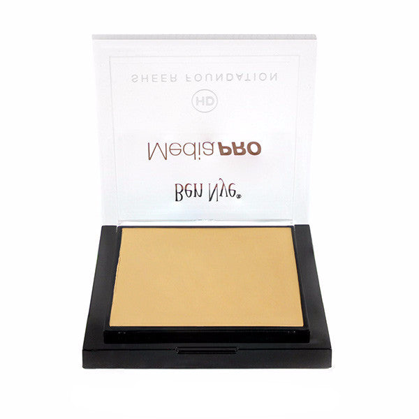 Ben Nye MediaPRO HD Sheer Foundation - Pale Honey (HD-497) | Camera Ready Cosmetics - 49
