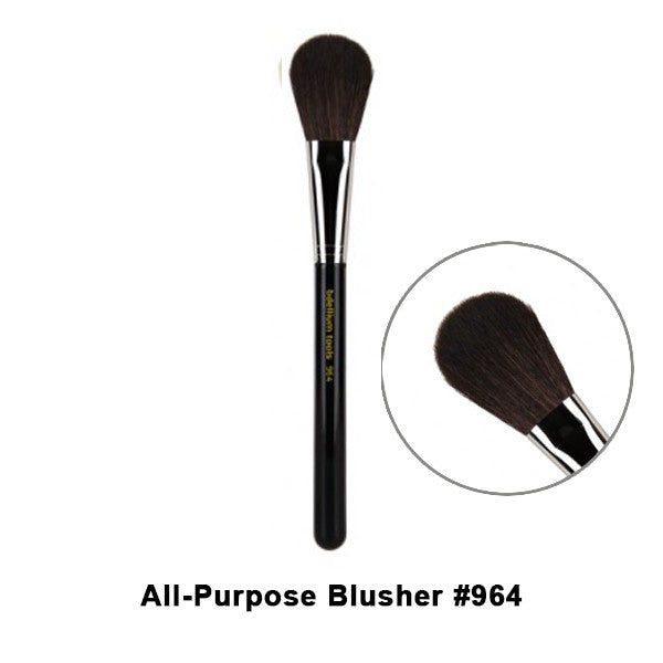 Bdellium Tools Maestro Series Brushes for Face - 964 All-Purpose Blusher | Camera Ready Cosmetics - 24