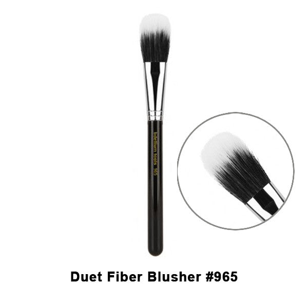 Bdellium Tools Maestro Series Brushes for Face - 965 Duet Fiber Blusher | Camera Ready Cosmetics - 25