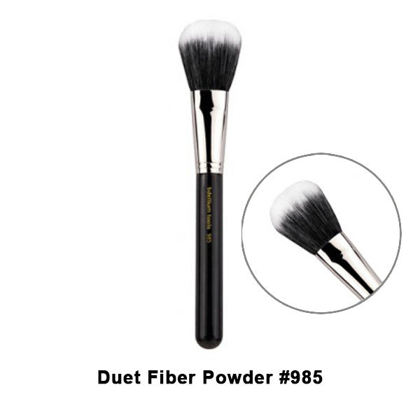 Bdellium Tools Maestro Series Brushes for Face - 985 Duet Fiber Powder | Camera Ready Cosmetics - 28