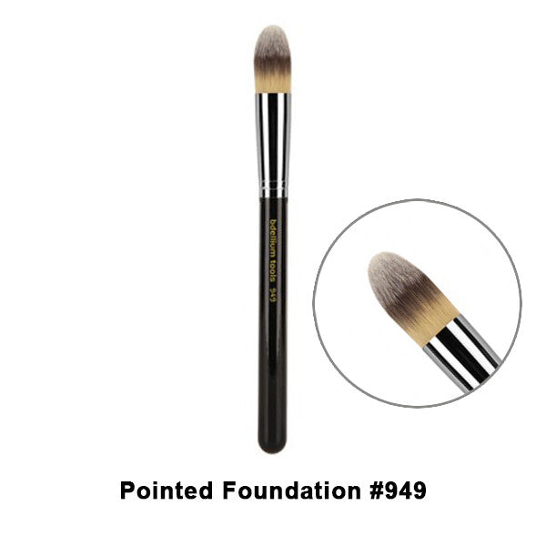 Bdellium Tools Maestro Series Brushes for Face - 949 Pointed Foundation | Camera Ready Cosmetics - 16