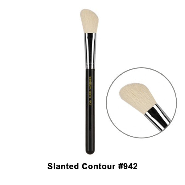 Bdellium Tools Maestro Series Brushes for Face - 942 Slanted Contour | Camera Ready Cosmetics - 9