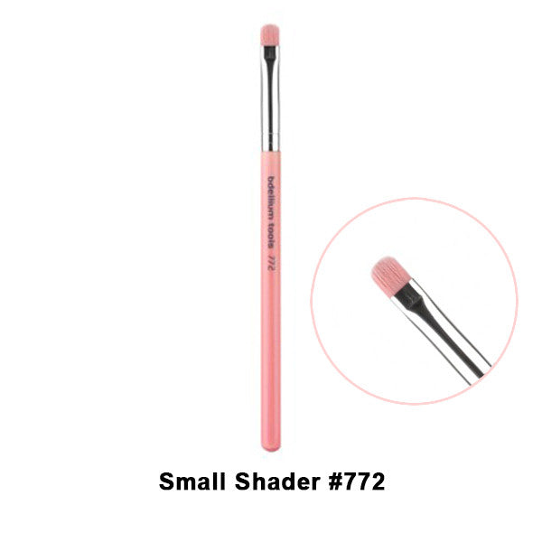Bdellium Tools Pink Bambu Brushes for Eyes - 772 Small Shader | Camera Ready Cosmetics - 17