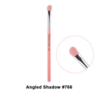 Bdellium Tools Pink Bambu Brushes for Eyes - 766 Angled Shadow | Camera Ready Cosmetics - 14