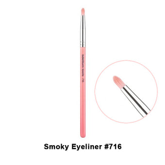 alt Bdellium Tools Pink Bambu Brushes for Eyes 716 Smokey Eye (Pink)