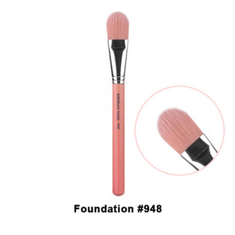 Bdellium Tools Pink Bambu Brushes for Face - 948 Foundation | Camera Ready Cosmetics - 15