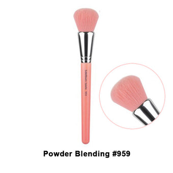 Bdellium Tools Pink Bambu Brushes for Face - 959 Powder Blending | Camera Ready Cosmetics - 23
