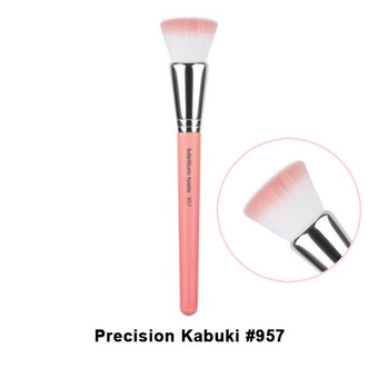 Bdellium Tools Pink Bambu Brushes for Face - 957 Precision Kabuki | Camera Ready Cosmetics - 22