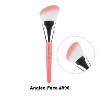 Bdellium Tools Pink Bambu Brushes for Face - 990 Angled Face | Camera Ready Cosmetics - 28