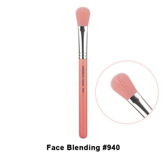 Bdellium Tools Pink Bambu Brushes for Face - 940 Face Blending | Camera Ready Cosmetics - 9