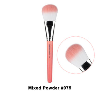 Bdellium Tools Pink Bambu Brushes for Face - 975 Mixed Powder | Camera Ready Cosmetics - 26