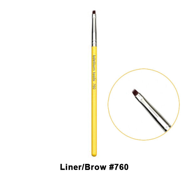 Bdellium Tools Studio Line Brushes for Eyes - 760 Liner/Brow | Camera Ready Cosmetics - 16