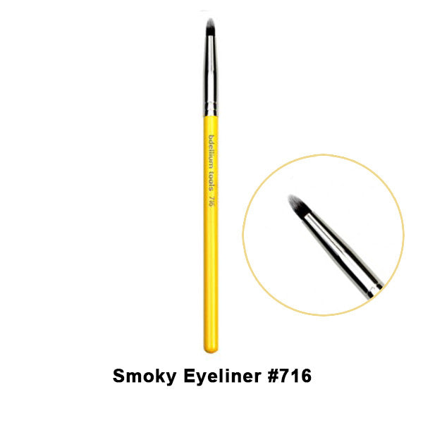 Bdellium Tools Studio Line Brushes for Eyes - 716 Smoky Eyeliner | Camera Ready Cosmetics - 8