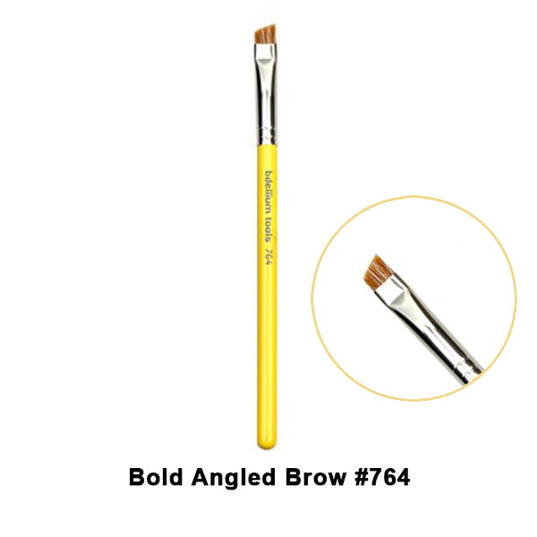 Bdellium Tools Studio Line Brushes for Eyes - 764 Bold Angled Brow | Camera Ready Cosmetics - 19
