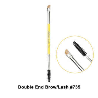 alt Bdellium Tools Studio Line Brushes for Eyes 735 Double End Brow Lash (Studio)