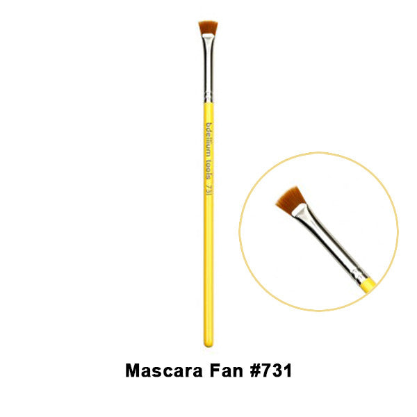 Bdellium Tools Studio Line Brushes for Eyes - 731 Mascara Fan | Camera Ready Cosmetics - 10