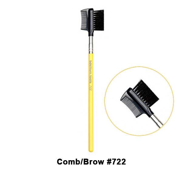 Bdellium Tools Studio Line Brushes for Eyes - 722 Comb/Brow | Camera Ready Cosmetics - 9