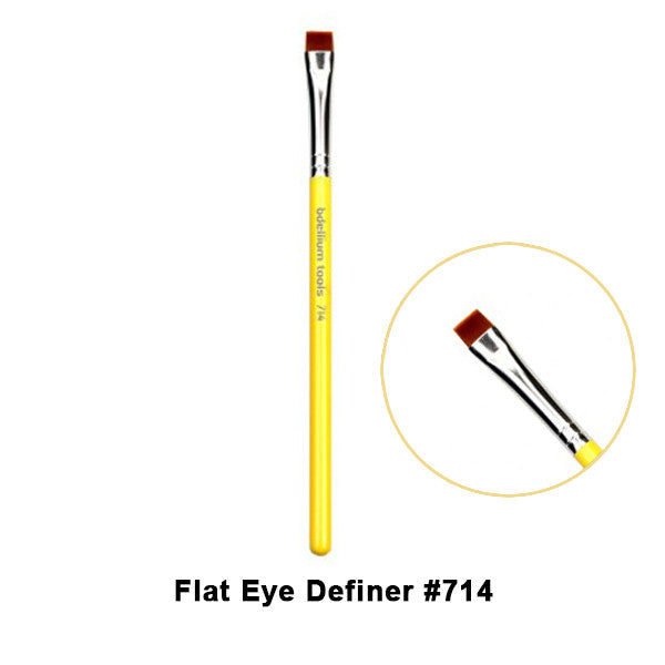 Bdellium Tools Studio Line Brushes for Eyes - 714 Flat Eye Definer | Camera Ready Cosmetics - 7